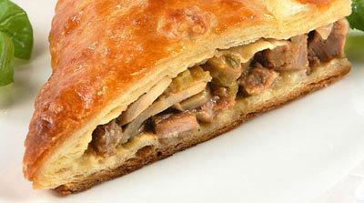 Рецепт мясного пирога на кефире