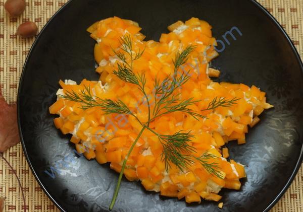 рецепт салата осенний с фото