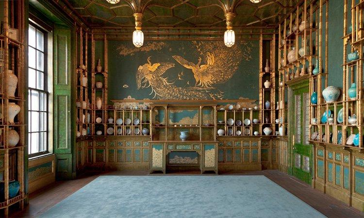 Картинки по запросу 'Павлинья комната' (1876—1877) Уистлера