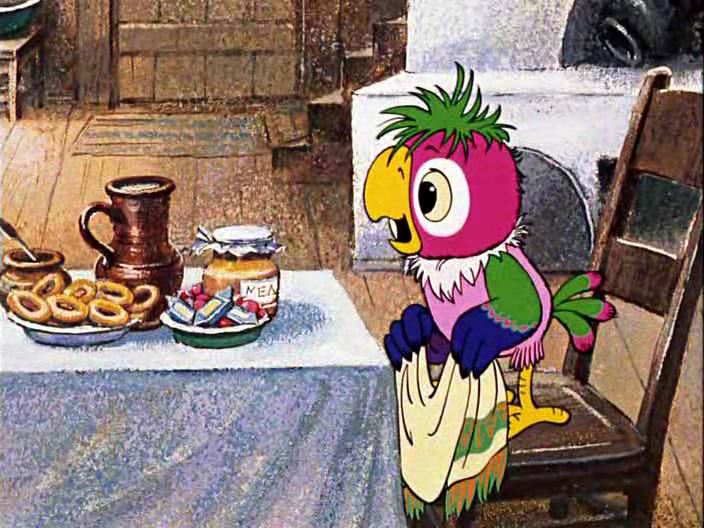 Возвращение блудного попугая мультфильм картинки