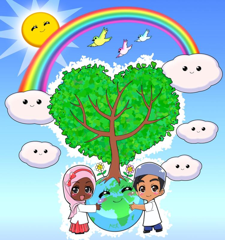 save our environment essay for kids