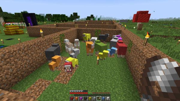 что едят овечки в майнкрафте #5