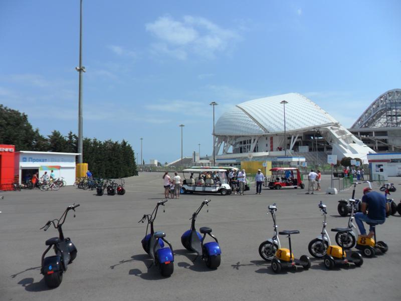 олимпийский парк сочи фото велорикши сами себе