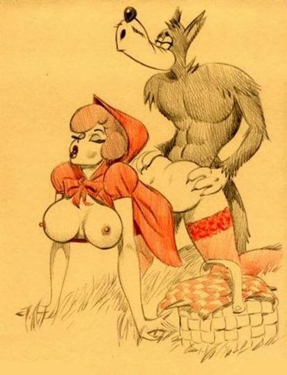 заметила, сисястые красные шапочьки с дравасеками порно удивление своих