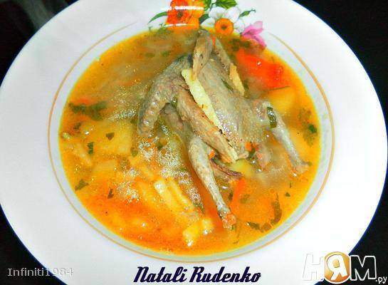 суп из куропатки рецепт с фото