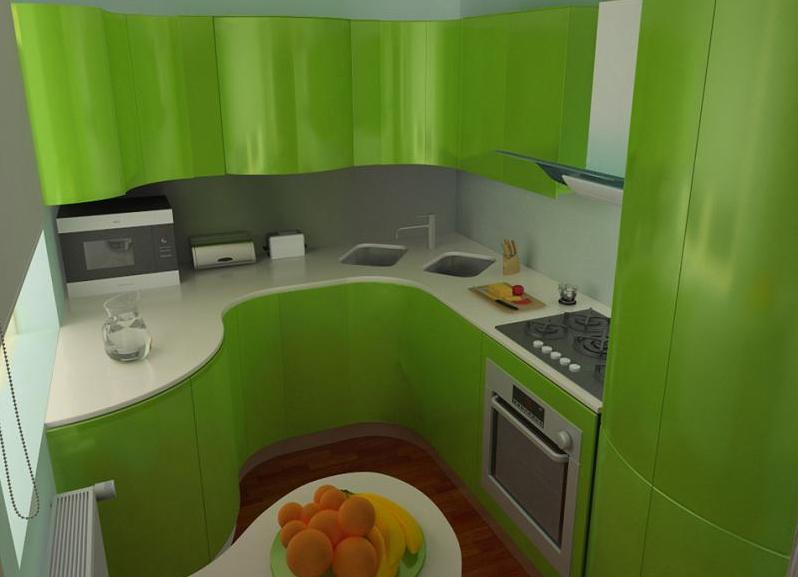 ремонт для маленькой кухни дизайн фото 6 кв