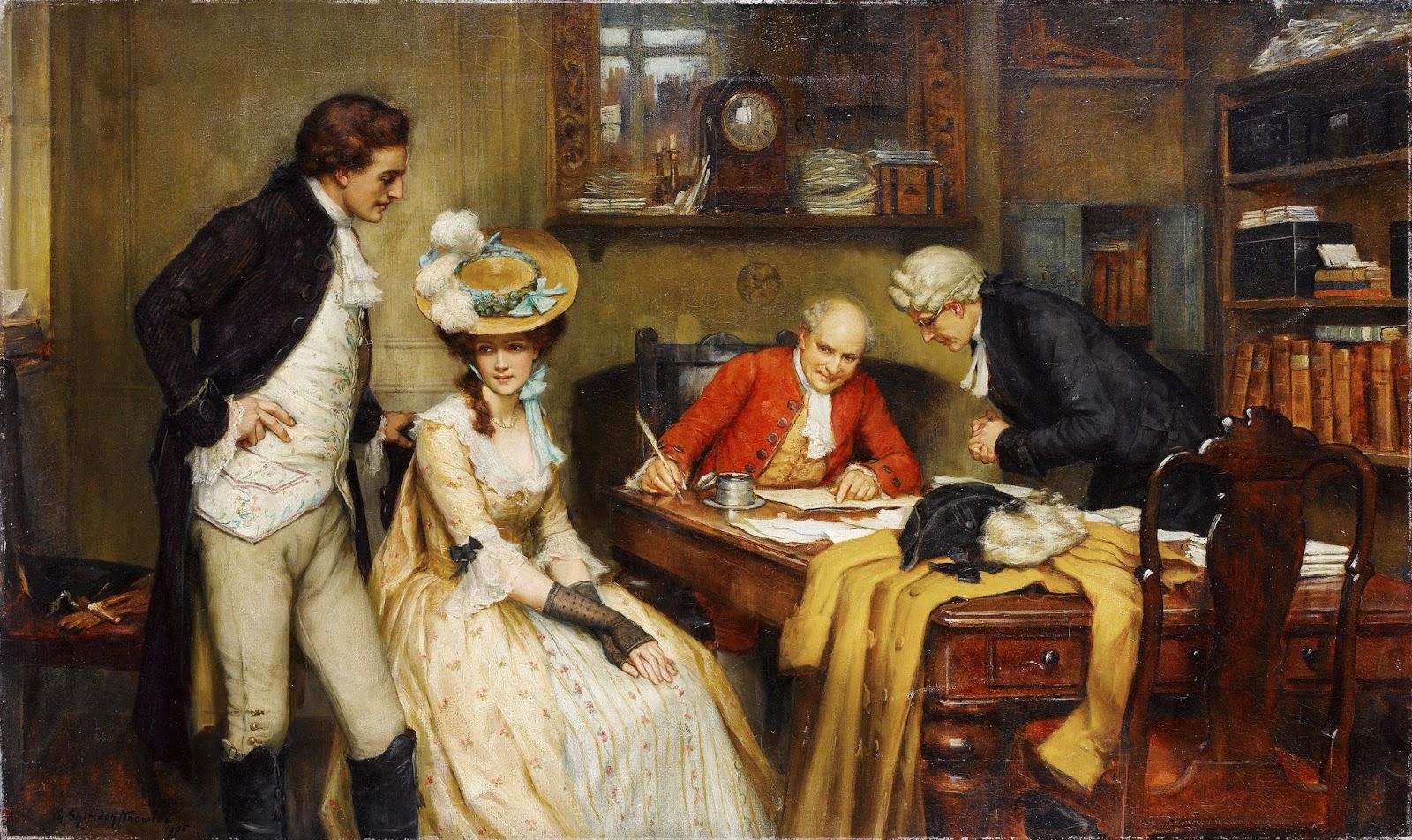 семейное право англии 17 века некоторых