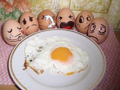 egg horror poem