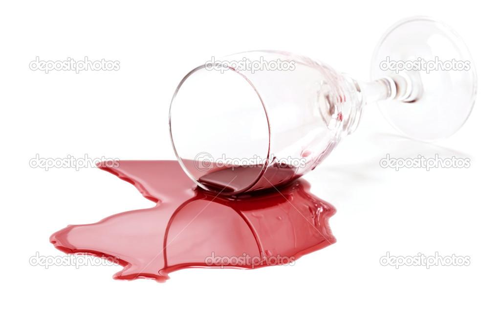 Скатерть белая залита вином текст