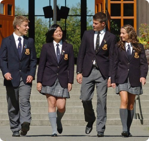 benefits of wearing school uniforms in the schools in united states United states africa does wearing a school uniform improve student such mandatory policies that decide what students can or cannot wear to schools.