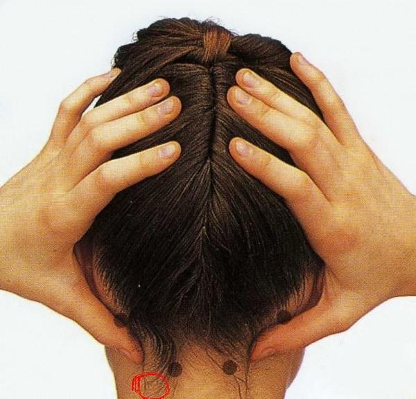 два симметричных шарика на голове сзади мастика (зимняя)