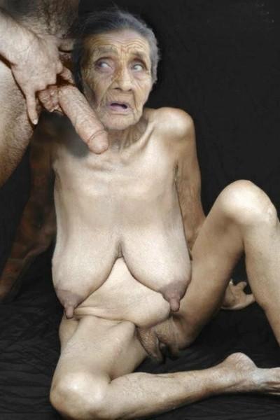 фото старушки сосут