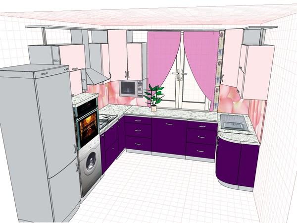 Северная сторона кухни какие лучше цвета кухни