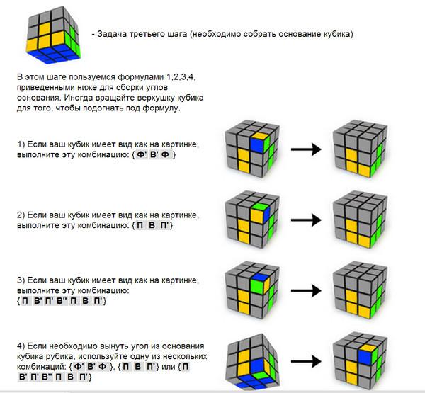 называют как собрать кубик рубика инструкция в картинках образом арине