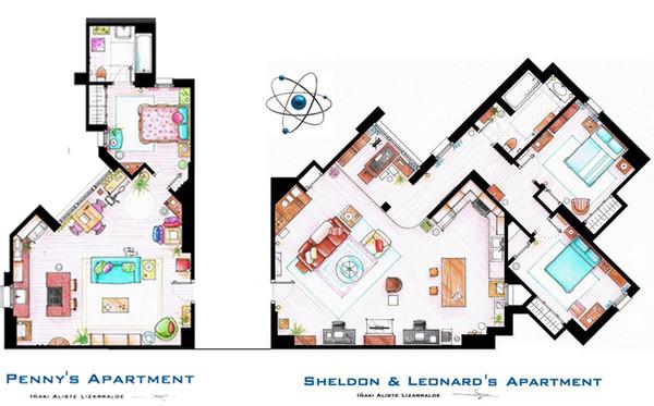 Оригинальная планировка квартиры