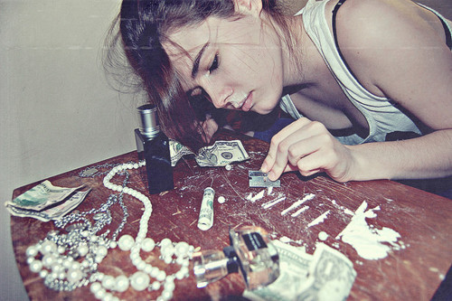 Teen girls and cocaine — photo 13