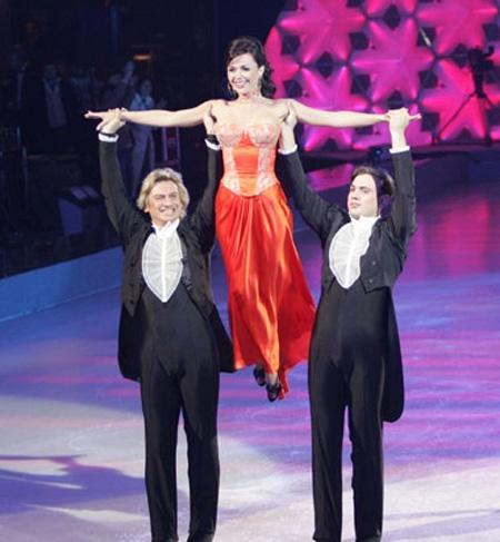 Заворотнюк танцы на льду грудь фото — pic 15