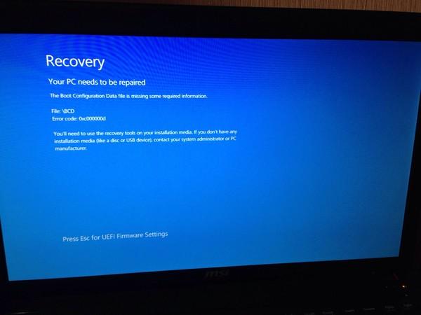 Windows rt usb recovery