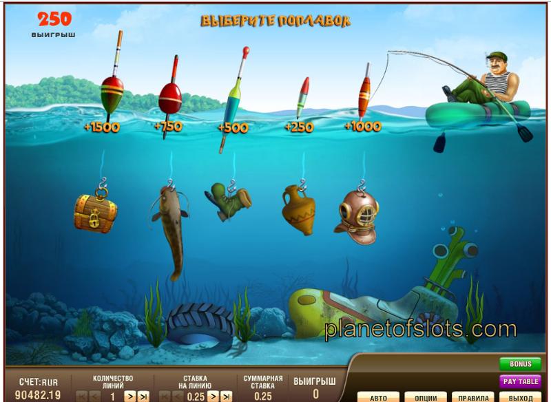 Игровые автоматы бесплатно Рыбалка на