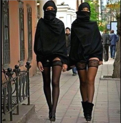 Сексуальные оргии мусульманок