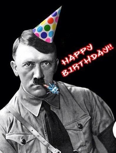 Открытка гитлер с днем рождения