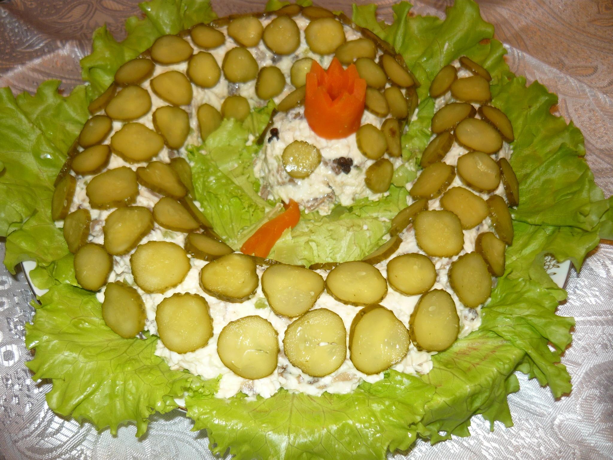 необычные салаты на юбилей с фото это время