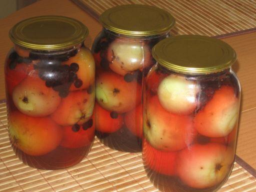 Яблоки закрыть компот