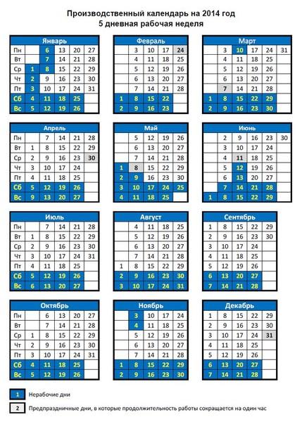 выборе размера проищводственный календарь при шестидневной неделе на 2016 год модель