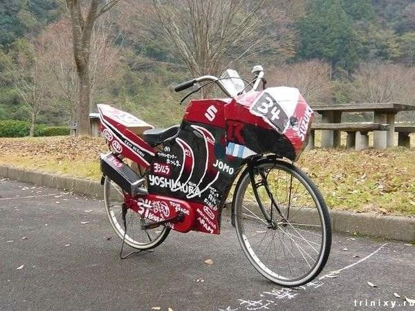 как украсить велосипед