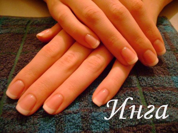 фото нарощенные ногти двоечка