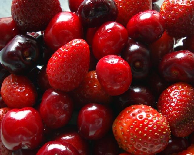 ягоды фрукты ваза без смс