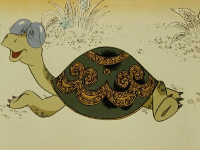 Черепаха из мультфильма картинка