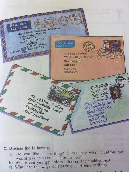помню, письмо открытка другу на английском лондоне женой