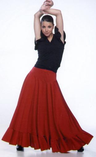 Фото юбки для фламенко