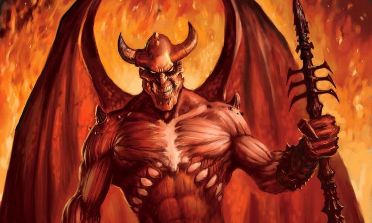 Открытки, прикольные картинки про демонов