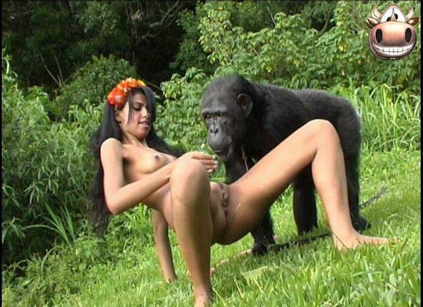 Girl fucking chimpanzee, dick cum movies