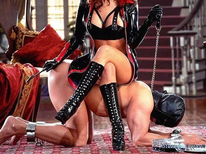 Урок как стать рабом для госпожи