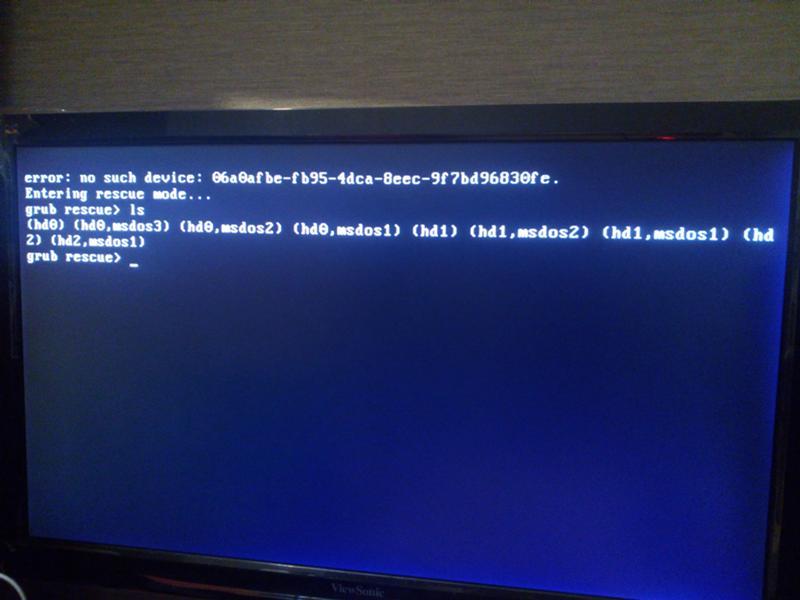 Recover data from crashed hard disk using ubuntu