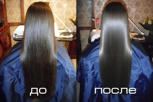 Что делать для блеска волос