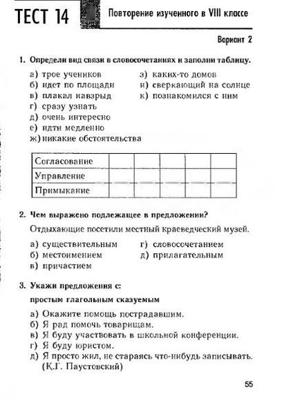 6 тесты гдз класс 1 м.п.книгина языку по русскому часть