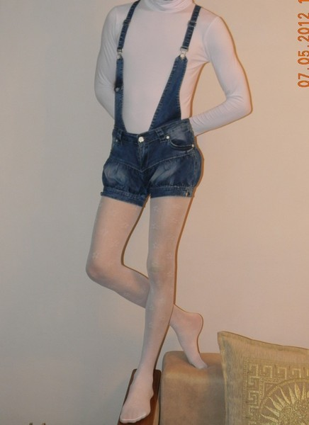 джинсы на барахолке