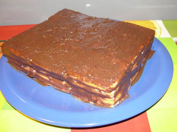 торт печенье творог рецепт фото