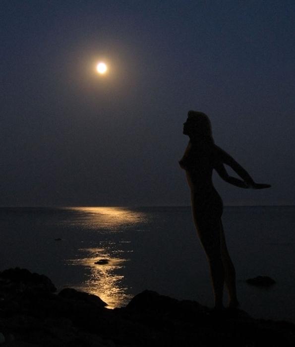Видео секс при луне считаю
