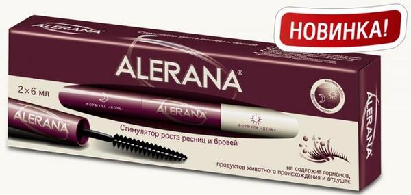 Средство для роста ресниц алерана цена