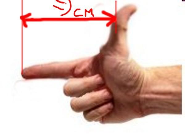 Зависимость размера влагалища от длины пальцев