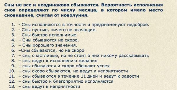 что означает во сне цифра 7 Руси жить хорошо