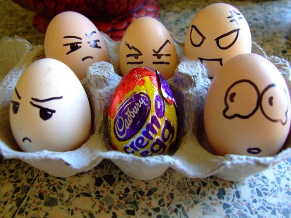Пасха смешные картинки про яйца