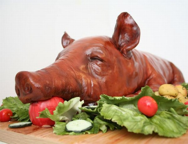День, жареная свинина смешные картинки
