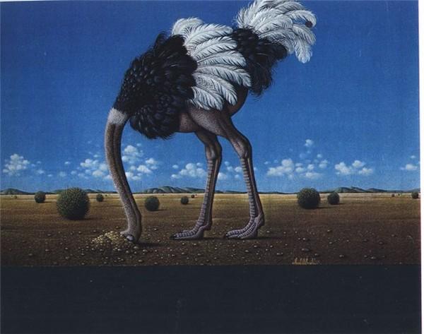 ресторана кокос, картинки страуса головой в песок сам себе принцип