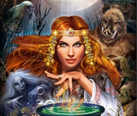 Красивые картинки - ведьмы » Поржать ру